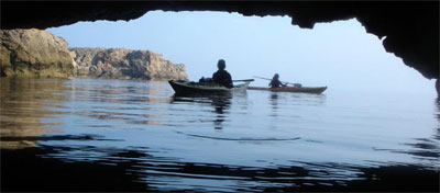 Rent a kayak by the day or a week, or join a group exploring some of the stunning coastline locations.